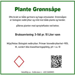 Plante Grønnsåpe